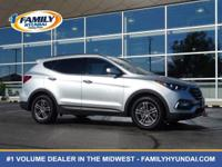 Come see this certified 2017 Hyundai Santa Fe Sport