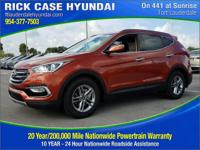 2017 Hyundai Santa Fe Sport 2.4 Base  in Copper and 20