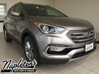 2017 Hyundai Santa Fe Sport in Gray, AUX CONNECTION,
