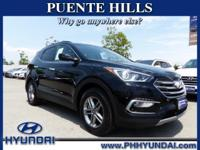 Options:  2017 Hyundai Santa Fe Sport 2.4L