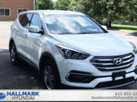 **Certified**. Right SUV! Right price! Hallmark Hyundai