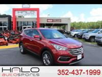 2017 HYUNDAI SANTE FE SPORT WITH POWER PACKAGE AND BACK