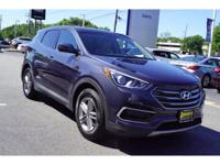 CARFAX One-Owner. Certified. Marlin Blue 2017 Hyundai