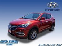 2017 Hyundai Santa Fe Sport 2.4 Base Red, Keyless