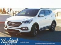 ** 2017 Hyundai Santa Fe Sport in White AURORA
