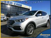This gorgeous Hyundai Santa Fe Sport with All Wheel