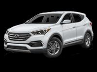 This 2017 Hyundai Santa Fe Sport 2.4L is Well Equipped
