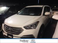 One Owner, Certified, AWD 2017 Santa Fe Sport! Priced