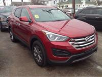 2017 Hyundai Santa Fe Sport 2.4 Base In Serrano Red.