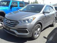 Look at this 2017 Hyundai Santa Fe Sport 2.4L. Its