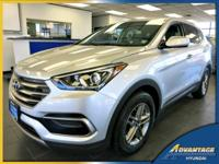 This 2017 Santa Fe Sport is practically brand new! It