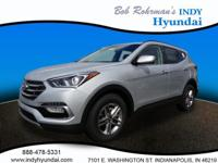 2017 Hyundai Santa Fe Sport 2.4 Base Silver WITH SOME