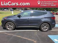 2017 Hyundai Santa Fe Sport in Marlin Blue, 1 Owner!,