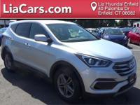 2017 Hyundai Santa Fe Sport in Sparkling Silver, 1