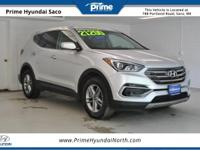 Clean CARFAX! 2017 Hyundai Santa Fe Sport 2.4 Base in