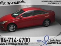 2017 Hyundai Sonata SE 2.4L I4 DGI DOHC 16V ULEV II