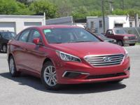 2017 Hyundai Sonata SE Cloth. 36/25 Highway/City MPG