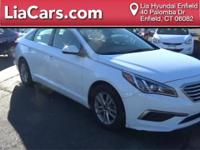 2017 Hyundai Sonata in White, Bluetooth Smart