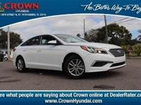 2017 Hyundai Sonata SE 36/25 Highway/City MPGAwards:*
