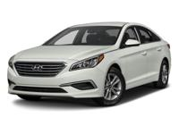 2017 Hyundai Sonata SE HARD TO FIND A VEHICLE THIS NICE