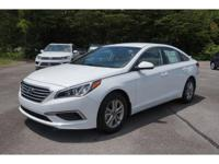 2017 White Hyundai Sonata ECO 7-Speed Automatic FWD