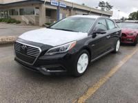 Eclipse Black 2017 Hyundai Sonata Hybrid Limited FWD