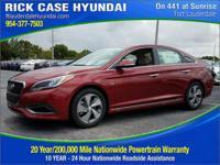 2017 Hyundai Sonata Hybrid Limited  in Cosmopolitanred
