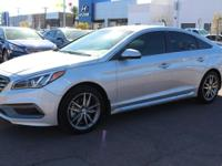2017 Hyundai Sonata Sport 2.0T Gray. 31/22 Highway/City