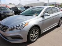 2017 Hyundai Sonata Sport 2.0T Gray. 31/22 Highway/City