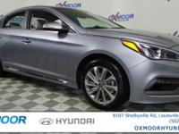 2017 Hyundai Sonata Sport 35/25 Highway/City MPGAwards: