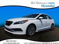 2017 Hyundai Sonata Sport White WITH SOME AVAILABLE