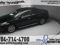2017 Hyundai Sonata Limited 2.4L I4 DGI DOHC 16V ULEV