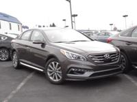 2017 Hyundai Sonata Sport Cloth. 35/25 Highway/City
