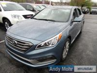 2017 Hyundai Sonata Sport FWD 6-Speed Automatic with