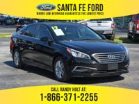 *2017 Hyundai Sonata *-* *Large sedan - 2.4L I4 engine