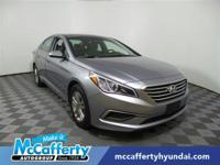 This Hyundai Sonata has a strong Regular Unleaded I-4