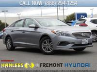 Shale Gray Metallic 2017 Hyundai Sonata FWD 6-Speed