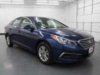 CARFAX One-Owner. Clean CARFAX. Blue 2017 Hyundai