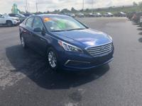 Blue 2017 Hyundai Sonata FWD 6-Speed Automatic with