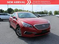 New arrival! 2017 Hyundai Sonata SE! Only 3,147 miles!