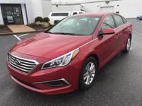 This outstanding example of a 2017 Hyundai Sonata 2.4L