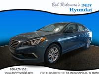 2017 Hyundai Sonata SE Blue WITH SOME AVAILABLE OPTIONS