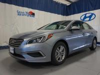 Gray 2017 Hyundai Sonata SE FWD 6-Speed Automatic with