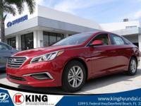 $4,599 off MSRP! 36/25 Highway/City MPG King Hyundai is