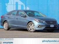 Blue 2017 Hyundai Sonata SE FWD 6-Speed Automatic with