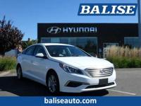2017 Hyundai Sonata 2.4L one owner with a perfect