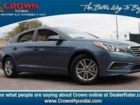 2017 Hyundai Sonata SE 36/25 Highway/City MPGAwards:  *