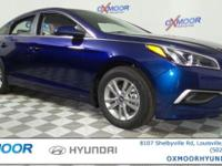 2017 Hyundai Sonata SE Cloth. 36/25 Highway/City