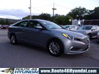 2017 Hyundai Sonata SE in Symphony Silver with the