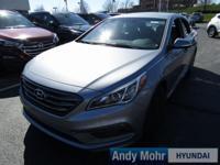 2017 Hyundai Sonata Sport 2.0T 4-Wheel Disc Brakes, Air